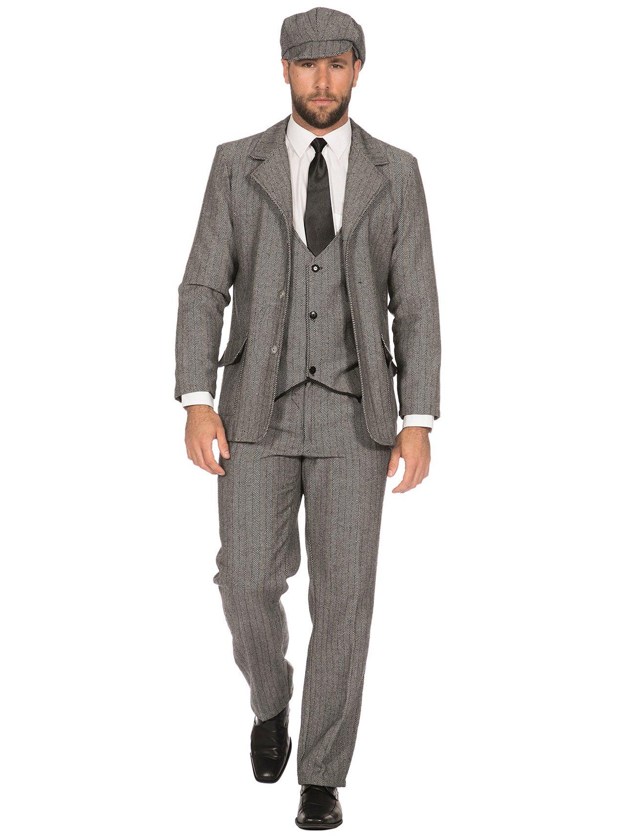 Details zu 20er Jahre Jacke für Herren grau