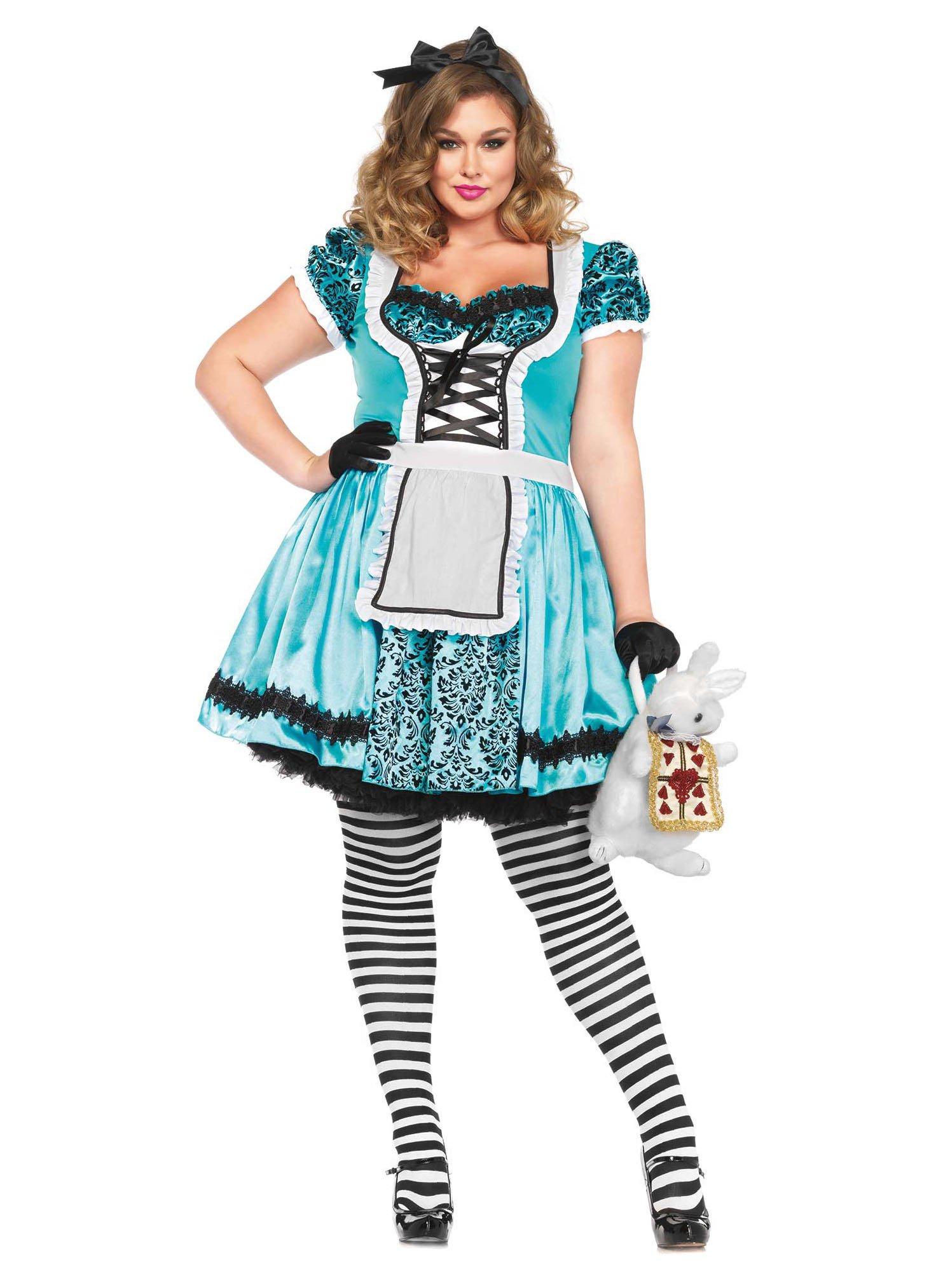 alice im wunderland xxl kostüm karneval fasching märchen