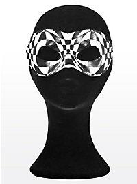 Colombina Harlequin Leather Eye Mask