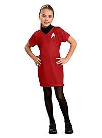 Star Trek Kleid rot für Kinder