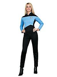 Star Trek The Next Generation Anzug blau