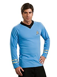Star Trek Shirt classic blau
