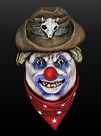 Rodeo Clown Latex Full Mask