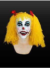 Insane Clown Girl Latex Full Mask