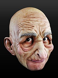 Old Man Chinless Mask Made of Latex