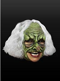Mutantenhexe Kinnlose Maske aus Latex