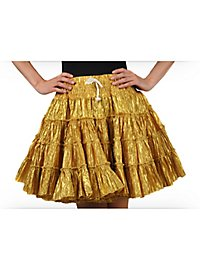 Petticoat gold-metallic