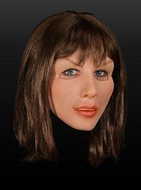 Diva Brunette Latex Full Mask
