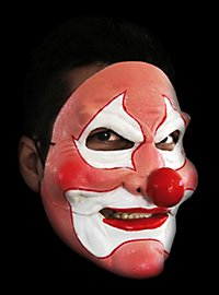 Pink Clown Mask  with moving mouth