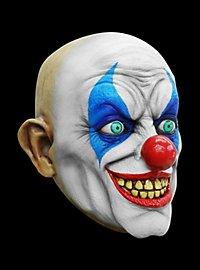 Psycho Clown Horror Mask made of latex