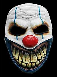 Nightmare Clown Horror Mask made of latex