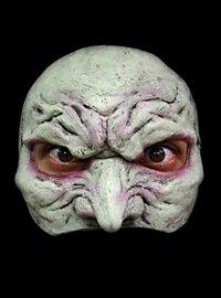 Hexengesicht Halbmaske aus Latex