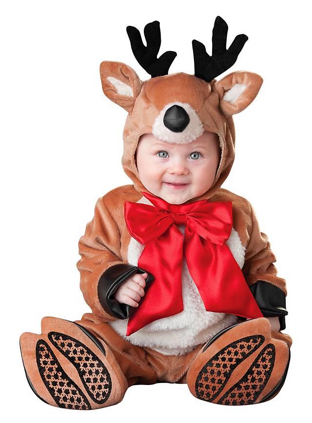 lustiges weihnachtskost m rentier baby kost m weihnachten rudolf ebay. Black Bedroom Furniture Sets. Home Design Ideas