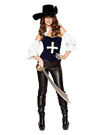 Sexy Lady Musketeer Costume