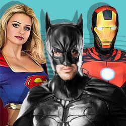 Superhelden Kostüme
