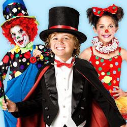 Zirkuskostüme für Kinder