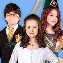 Fantasy-, Feen- & Zauberer-Kostüme für Kinder