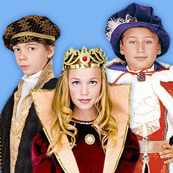 Prinzen- & Prinzessinnen-Kostüme für Kinder