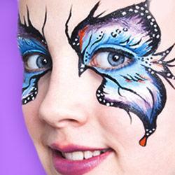 faschingsschminke karneval schminke fasching make up. Black Bedroom Furniture Sets. Home Design Ideas