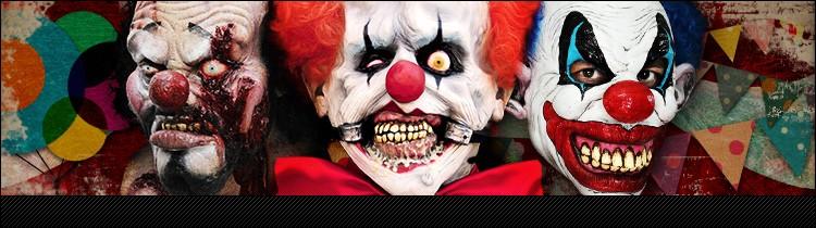 Horror Clown Masks