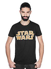 Star Wars Logo T-Shirt schwarz