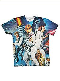 Star Wars T-Shirt Poster Allover