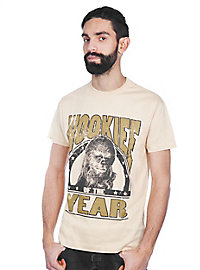 Chewbacca T-Shirt Wookie of the Year