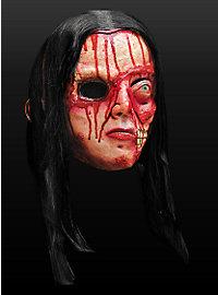 Bluthexe Maske aus Latex