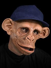 Chimp Affenmaske aus Latex