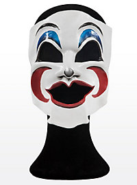 Comedy Clown Leather Half Mask