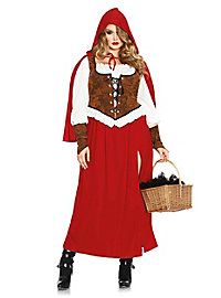 Fairytale Red Riding Hood Plus Size Costume