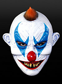 Fieser Clown Maske aus Latex