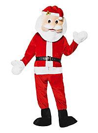 Flauschiger Weihnachtsmann Maskottchen