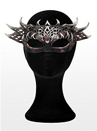 Forest Nymph Leather Half Mask