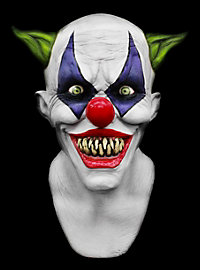 Freaky Clown Deluxe Maske aus Latex