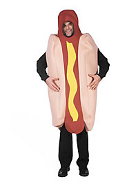Hotdog Deluxe Faschingskostüm