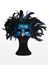 Radiant Peacock Made of Leather