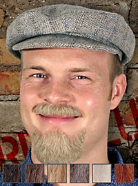 Revolutionär Professionelle Bartkombination aus Echthaar