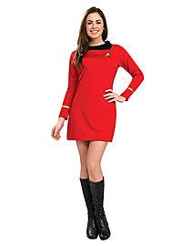Star Trek Kleid rot