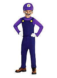 Super Mario Waluigi Kinderkostüm