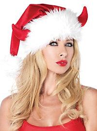 Teufelchen Weihnachtsmütze