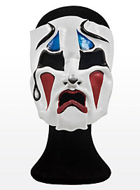 Tragedy Clown Leather Half Mask
