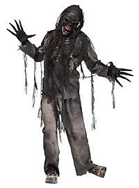 Verkohlter Zombie Kostüm
