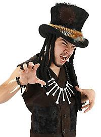 Voodoo Hut mit Haarteil