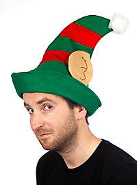 Weihnachtself Mütze
