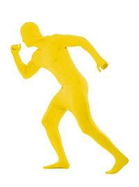 Zentai Ganzkörperanzug gelb