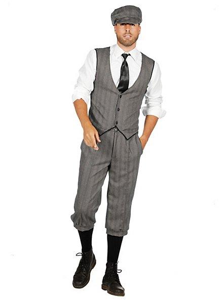 20er Jahre Dandy grau Kostümset für Männer