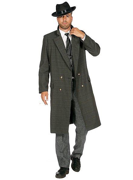 20er Jahre Mantel für Herren dunkelgrün