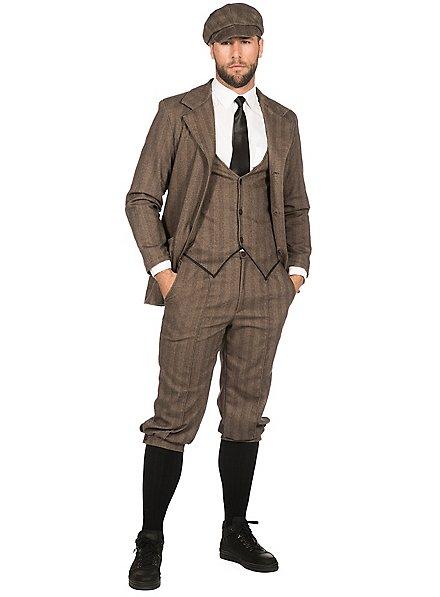 20's jacket for men brown