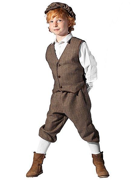 20s newspaper boy child costume